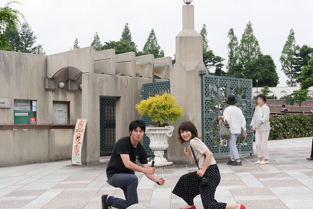 兵庫県伊丹市荒牧バラ公園の外観